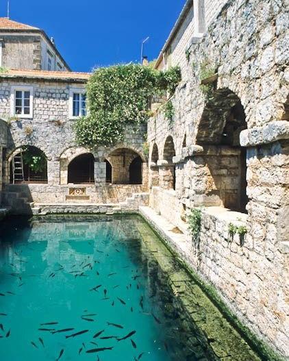 Hectorovic Castle, Stari Grad, Hvar, Croatia, Europe